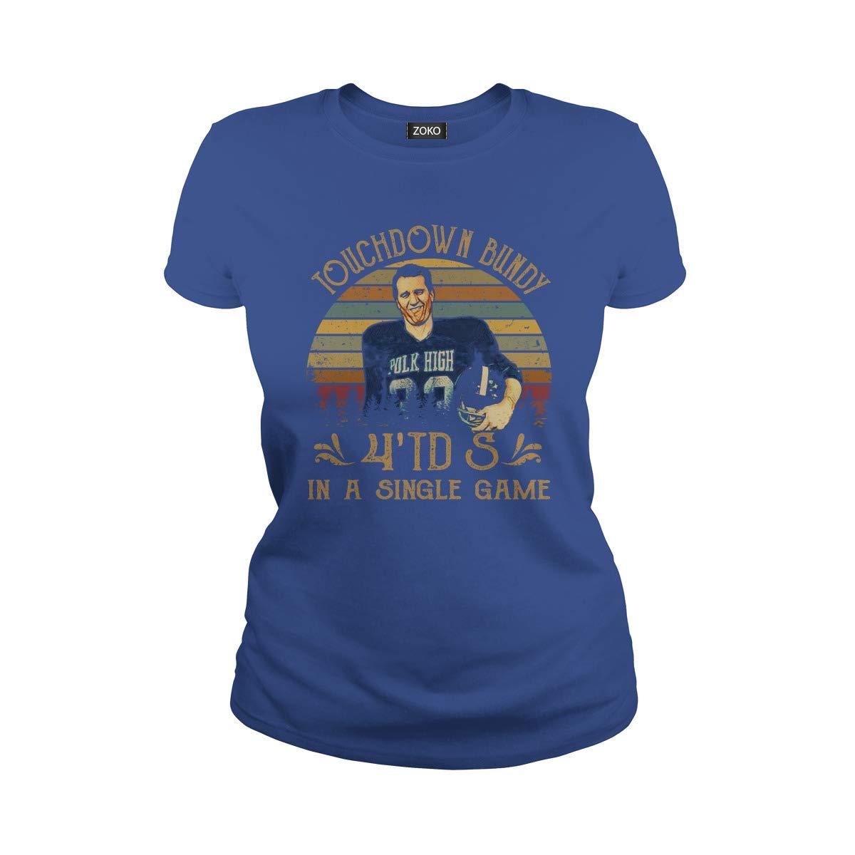 Touchdown Bundy 4TDs Vintage T-Shirt