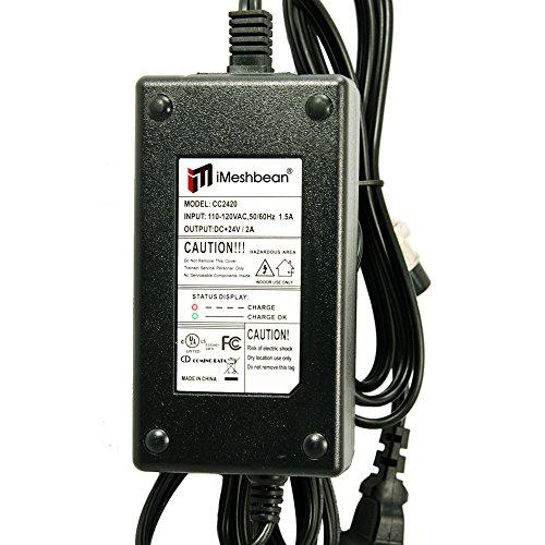 iMeshbean 24V 2A Scooter eléctrico Cargador de batería para Razor E100 E200 E300 E125 E150 E500 EE. UU.