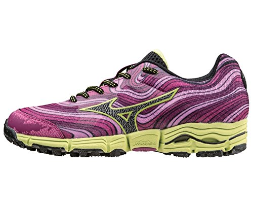 Wave SS15 Women's Kazan pink Mizuno Trial Chaussure Course HUq6xP4w1