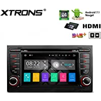 XTRONS HDMI Android 7.1 Quad Core 7 Inch HD Digital Touch Screen Car Stereo Radio DVD Player GPS for Audi A4 S4 RS4