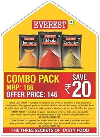 [Pantry] Everest Spice Combo Pack of 3 (600g)