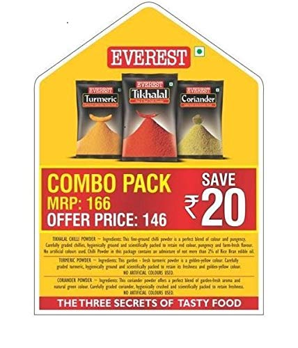 Everest Spice Combo Pack of 3 (600g)