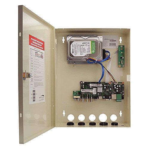 Speco - D8WVT1TB - Speco 8 Channel 1080p HD-TVI Base Wall Mount Digital Video Recorder - Digital Video Recorder - H.264 Formats - 1 TB Hard Drive - 240 Fps - Composite Video In - Composite Video Out - (Fps Hard Drive Dvr)