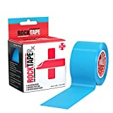 Rocktape RX Sensitive-Skin 2-Inch Kinesiology Tape, 16.4-Foot Continuous Roll, Electric Blue