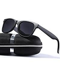 Wayfarer Sunglasses for Men Vintage Polarized Sun Glasses...