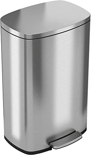 iTouchless-SoftStep-13.2-Gallon-Stainless-Steel-Step-Trash-Can-with-Odor-Control-System