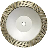 Turbo Coarse Stone Cup Wheel -- 7''x 5/8th