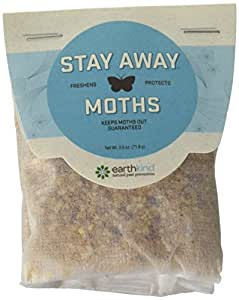 Earthkind Stay Away, Moth Repellent, 2.5 Ounce