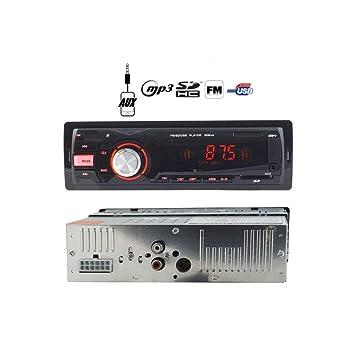 tradeshoptraesio® – Radio estéreo coche USB SD AUX deh-4101 LCD pantalla MP3