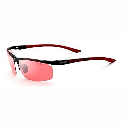 ZX-gafas de sol masculinas ZX Al-MG Luz Polarizada HD Pescar Gafas Al