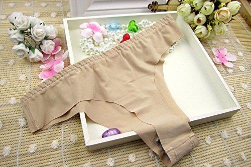 Culotte Femme String Femme pur coton sous-vêtements 1 pièce Femme Pantalon Stealth T et Sous-vêtements sexy , Mme Red