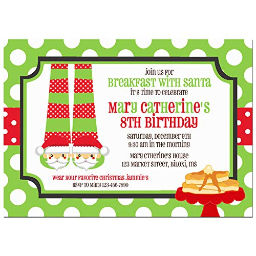 amazon com christmas party invitation christmas invitation
