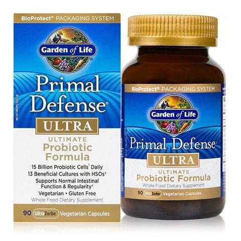 Garden of Life Primal Defense ULTRA, GreatPackage Pack of 90 Capsules (Pack of 3)
