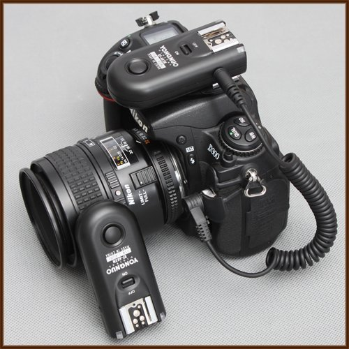 Yongnuo RF-603 N3 2.4GHz Wireless Flash Trigger/Wireless Shutter Release Transceiver Kit for Nikon D90/D3100/D5000/D7000