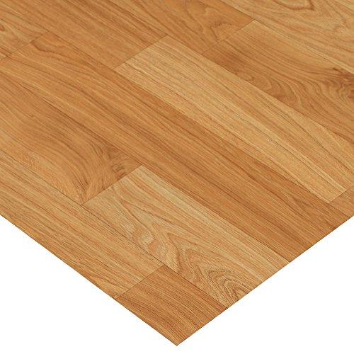 - Rubber-Cal Terra-Flex Oak Premium Rubber Flooring Rolls, Golden Oak, 2mm x 5' x 25'