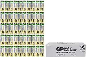 50 GP A23 GP23AE 21/23 23A 23GA MN21 GP23 23AE 12v Alkaline Zero Mercury Batteries
