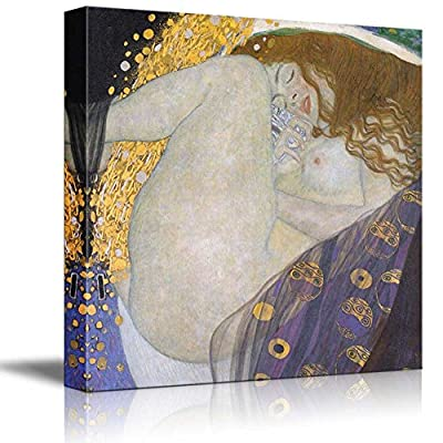 Beautiful Artistry, Made For You, Danae E by Gustav Klimt Austrian Symbolist Painter Golden Phase