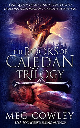 The Books of Caledan Trilogy: (An Epic Fantasy Collection: The Tainted Crown, The Brooding Crown, The Shattered Crown) cover