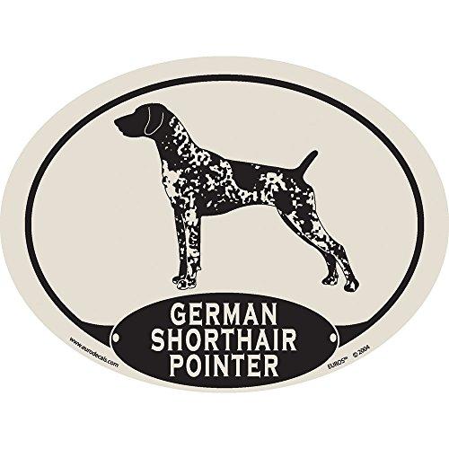 - European Style German Shorthair Pointer Auto Decal