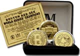 Boston Red Sox 2004 World Series Champions 24KT 3 Coin 24KT Gold Set