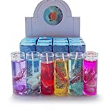 LandFox 1Pcs Aromatherapy Smokeless Candles Ocean Shells Valentines Scented Jelly Candle