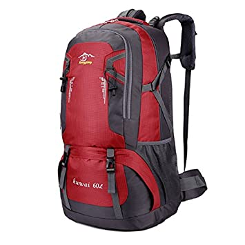 a57f262a2896 Camping Hiking Backpack Outdoor Sports Bag Waterproof Lightweight Rucksack  For Climbing Travelling Mountaineering Casual Daypack (