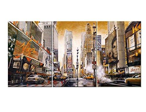 3 piece canvas art new york - 8