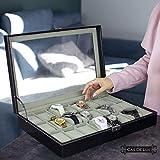 Watch Box Organizer Pillow Case - 24 Slot Luxury