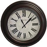 "WESTCLOX 32213VBR-20 20"" Round Roman Numeral Wall Clock"