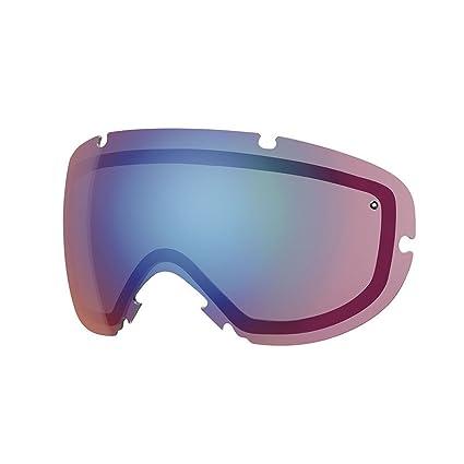 2abffeded34 Amazon.com  Smith I O X Replacement Goggle Lens Blue Sensor 2