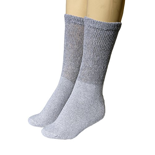 Buruka Healthy Circulation Diabetic Socks - 1 Dozen Pairs from Nice Underwear