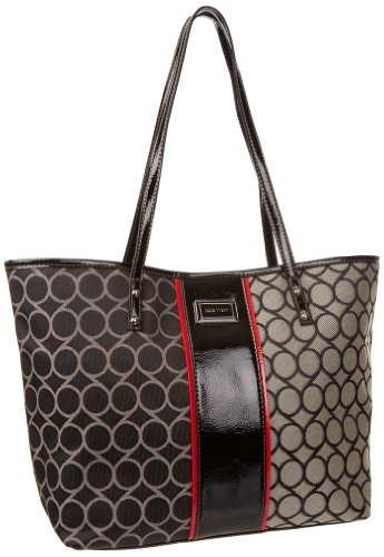 Nine West 9S Jacquard Medium Tote Handbag
