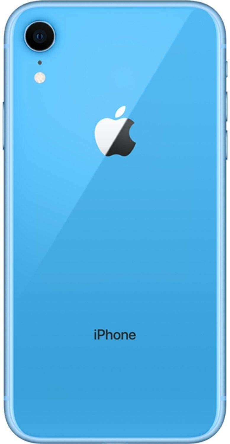 Apple iPhone XR, AT&T, 64GB - Blue (Renewed)