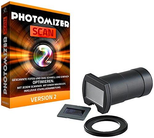 Somikon DSLR-Objektiv-Aufsatz zum Digitalisieren von Dias/Negativen