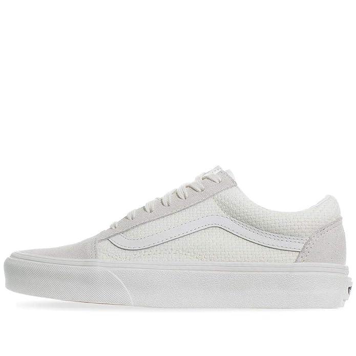 Vans Old Skool Sneaker Damen Herren Kinder Unisex Weiß