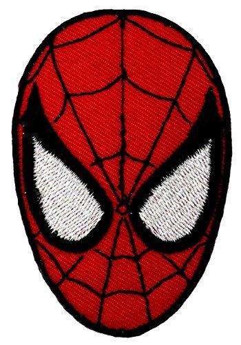 Spider-man Superhero Embroidered iron-on/sew-on (Dead Disney Princess Costume)
