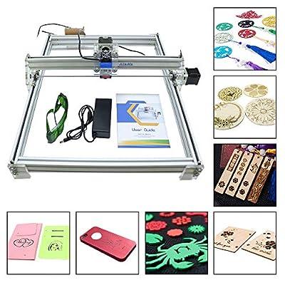 500MW DIY CNC Laser Engraver Kit Wood Carving Engraving Cutting,12V USB Desktop 40X50CM,Printer Logo Picture Marking Machine ...