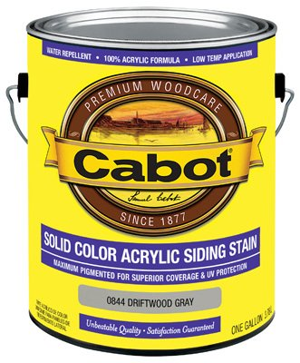 Cabot Exterior Solid Color Acrylic Siding Stain Cabot Solid Color