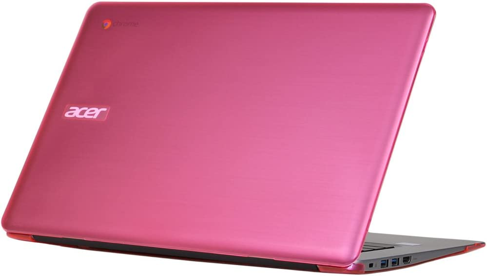 """iPearl mCover Hard Shell Case for 14"""" Acer Chromebook 14 CB3-431 Series Laptop (Pink)"""