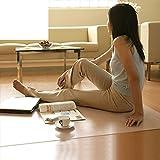 Transparent floor mat scrub mat table mats bay window mat waterproof floor mat-A 140x200cm(55x79inch)