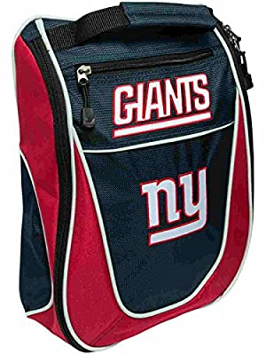 New York Giants Team Golf Navy Red Zippered Carry-On Golf Shoes Travel Bag