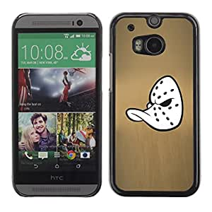 LOVE FOR HTC One M8 Mighty Duck Hockey Mask Personalized Design Custom DIY Case Cover