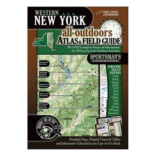 Western New York All-Outdoors Atlas & Field Guide by Sportsman's Connection (Image #1)