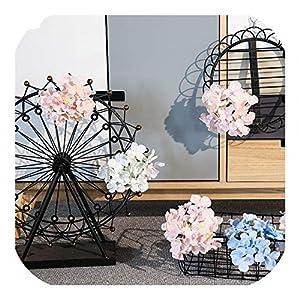 Memoirs- 20 Pieces DIY Wedding Decoration Flower Head Bride New Bedroom Decoration Artificial Flowers Hydrangea for Party Decor ChengCheng 2