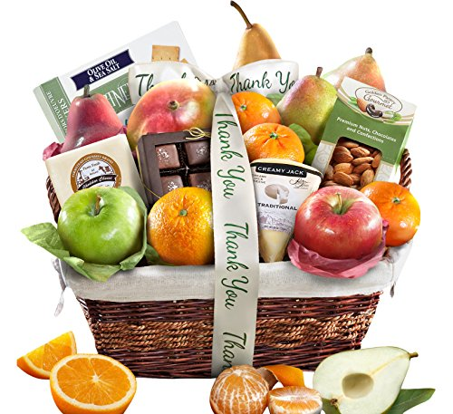 Golden State Fruit Deluxe Basket