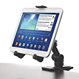 Clip-On Mount - iKross Tablet / Cellphone Adjustable Swing Arm Desk Mount Bracket Holder for iPad Air Mini, iPhone 6S 6S Plus; Samsung Galaxy Tablet, Dell Venue, Asus Iconia, Acer Transformer Tablet and more
