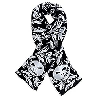 Disney The Nightmare Before Christmas Knit Scarf at Amazon Women's ...