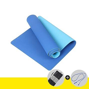 Antideslizante Yoga Mat - TPE espesante Antideslizante y sin ...