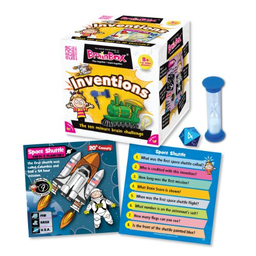 BrainBox for Kids -  Inventions Card Game ()