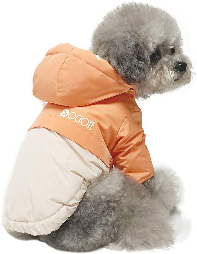 chaleco abrigo para perros pequeños en varios colores, con forro polar